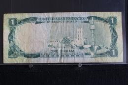 M-An / Billet  - United Arab Emirates  One Dirham ( 1 Dirham )  / Année ? - Emirats Arabes Unis
