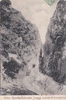 CPA/ Diacofte   Kalavryta  (Grèce ) Train   Dos Précurseur    Voyagée  1904 - Grèce