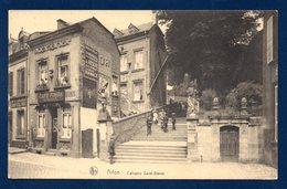Arlon. Calvaire Saint-Donat. Café Pomba. Boucherie Chevaline. 1932 - Arlon