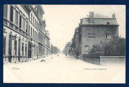 Arlon. Avenue Des Voyageurs. Hôtel Du Commerce. Hôtel De L'Est. Dentiste. 1909 - Arlon