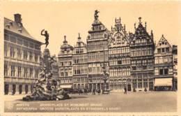 ANTWERPEN - Groote Marktplaats En Standbeeld Brabo - Antwerpen