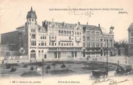 ANVERS - Place De La Station - Café-Restaurant Du Paon Royal Et Entrée Du Jardin Zoologique - Antwerpen