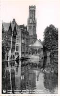 BRUGGE - Halletoren Gezien Van De Rozenhoedkaai - Brugge