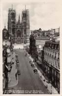 BRUXELLES - La Cathédrale Et La Rue Ste-Gudule - Monuments, édifices
