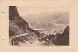 CAUTERETS. VUE SUR PIERREFITTE. ROUTE ET TUNNEL DE LA LIGNE ELECTRIQUE . PHOTO SIZE 18x12cm CIRCA 1920s FRANCE - BLEUP - Lieux