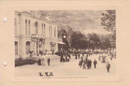 CAUTERETS. LE CASINO ET L'ESPLANADE DES OEUFS. PHOTO SIZE 18x12cm CIRCA 1920s FRANCE - BLEUP - Lieux