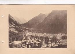 CAUTERETS. VUE GENERALE. PHOTO SIZE 18x12cm CIRCA 1920s FRANCE - BLEUP - Lieux