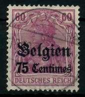 BES 1WK LP BELGIEN Nr 6 Gestempelt X77B162 - Besetzungen 1914-18