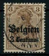 BES 1WK LP BELGIEN Nr 1 Gestempelt X77B20A - Besetzungen 1914-18