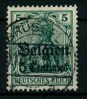 BES 1WK LP BELGIEN Nr 2 Gestempelt X77B266 - Besetzungen 1914-18