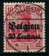 BES 1WK LP BELGIEN Nr 3 Gestempelt X77B1EE - Besetzungen 1914-18
