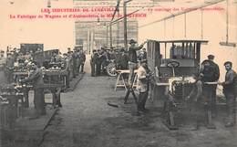 CPA LES INDUSTRIES DE LUNEVILLE - La Fabrique De Wagons Et D' Automobiles De M. De DIETRICH - Luneville