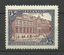 LETTLAND Latvia 1925 Libau Michel 108 A * - Letland