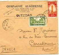 B001 - 1929 Compagnie Algérienne Cachet Ouezzan - Algérie (1962-...)
