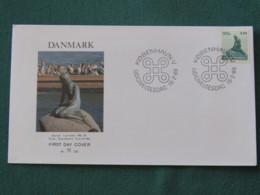 Denmark 1989 FDC Cover Copenhagen - Mermaid - Covers & Documents