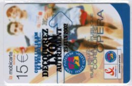 Recharge Mobicarte Marathon De Lyon - Voir Scans - Frankreich