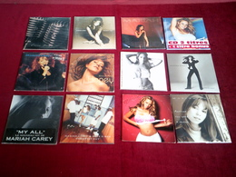MARIAH   CAREY  °° COLLECTION DE 12  CD SINGLE 2 TITRES - Musique & Instruments