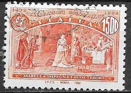 ITALIA  REPUBBLICA 2007 MANIFESTAZIONI COLOMBIANE SASS. 2007 USATO VF - 2001-10: Usati