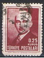(TU 26) TURKEY // YVERT 1031 // 1946 - 1921-... République