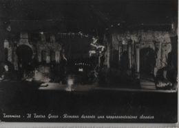 Italien - Taormina - Il Teatro Greco - Romano Durante Una Rappresentazione Classica - 1957 - Messina