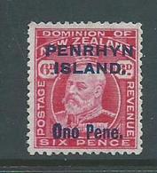 Penrhyn Island 1914 6d Carmine KEVII Unused MNG - Penrhyn