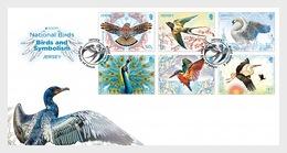 Jersey 2019 - Europa 2019 – National Birds: Birds & Symbolism FDC - Jersey