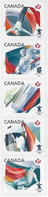 Canada 2009 Olympic Sports 5v Strip Ex-booklet Unmounted Mint [3/3453/ND] - 1952-.... Reign Of Elizabeth II