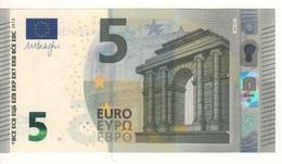 "5 EURO  ""Austria""    DRAGHI    N 011 E2     NA2512488286  /  FDS - UNC - EURO"