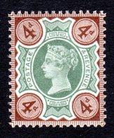 GRANDE-BRETAGNE - 1887/92 - Yvert N° 97 - NEUF ** Luxe MNH - 4 P. Victoria Jubilee Set - 1840-1901 (Viktoria)