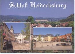 AK-32242  -  Schloß Heidecksburg - Mehrbild (3) - Rudolstadt