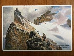 (alpinisme) Ernst PLATZ: Sommet Du Roten Wand (2707 M), Vers 1910. - Alpinisme