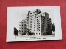 RPPC   Canada > Ontario > Ottawa  Lord Elgin Hotel    Ref 3282 - Ottawa