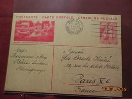 Entier Postal De 1933  à Destination De Paris - Entiers Postaux