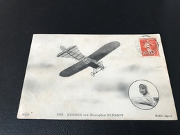 208 - AUBRUN Sur Monoplan BLERIOT - Aviateurs