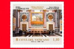 Nuovo - MNH - VATICANO - 2019 - 90º Anniversario Dei Patti Lateranensi - Sala Della Conciliazione - 1.10 - Vatican