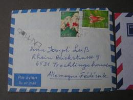 Zaire Express  Cv. 1968 Nach Trechtingshausen - Zaire