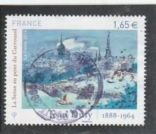 FRANCE 2014 JEAN DUFY LA SEINE AU PONT DU CARROUSEL OBLITERE YT 4885 - - France