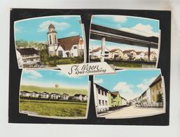 CPSM LEIMEN (Allemagne-Bade Wurtemberg) - SANKT ILGEN KREIS HEIDELBERG 4 Vues - Leimen