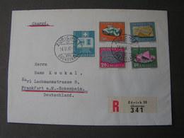 Schweiz  1961 Cv. Aus Zug FDC ?? - Schweiz