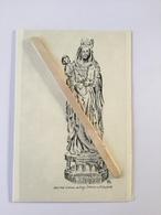GENAPPE -LOUPOIGNE» Notre Dame De Foy Statue En Bois (1630)»extrait Du Livre»Le Canton De Nivelles (dessin De Pets) - Genappe