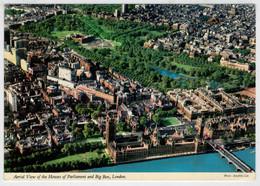 LONDON  THE  HOUSES  OF  PARLIAMENT            (VIAGGIATA) - Houses Of Parliament