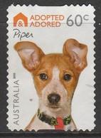 Australia 2010 Adopted And Adored (Dogs) - Self-Adhesive 60 C  Multicoloured SW 2970 O Used - 2010-... Elizabeth II