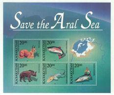 Kazakhstan 1996 // Sauvons La Mer D'Aral, Bloc-feuillet Neuf ** - Kazakhstan