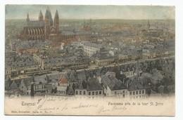 Tournai Panorama Pris De La Tour St. Brice Doornik - Doornik