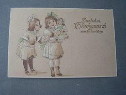 Kinder Mit Puppe 1915 - Gruppen Von Kindern Und Familien