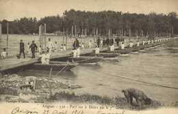 Militaria Avignon Port Sur Le Rhone Par Le 7e Génie RV Cachet Tunis - Avignon