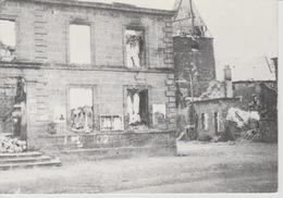 19 / 4 / 257  -  LA  CHESNE  ( 08 )  - LA  MAIRIE  - BATAILLE DE  LA  36è D. 1. Mai 1940. - C P M - Le Chesne