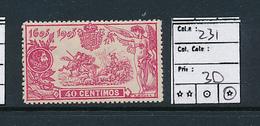 SPAIN YVERT 231 LH - 1931-Aujourd'hui: II. République - ....Juan Carlos I