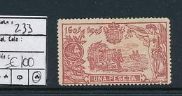 SPAIN YVERT 233 LH - 1931-Aujourd'hui: II. République - ....Juan Carlos I