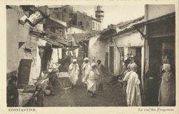4 AKs / CPAs Algerien Constantine Div. Motifs ~1920/30 # - Konstantinopel